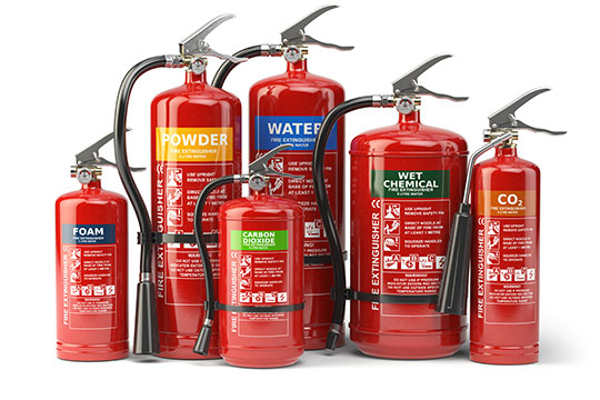 fire extinguisher systems in cheshunt