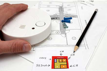 drafting of fire alarm